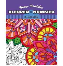 Kleuren op nummer - Flower Mandala's