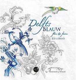 Kleurboek Delfts Blauw - Flora & Fauna