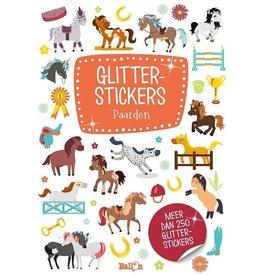 Glitterstickers Paarden