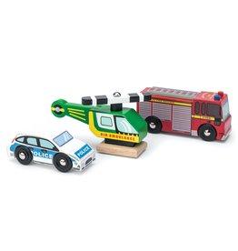 Le Toy Van LTV - Emergency Vehicle Set