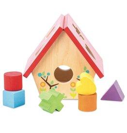 Le Toy Van LTV - My Little Birdhouse Shape Sorter