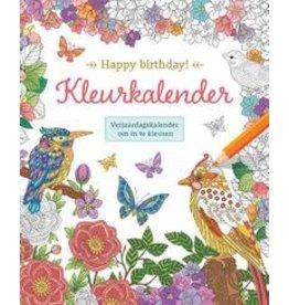 Deltas Happy Birthday! Kleurkalender