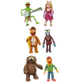 Diamond Select Muppets Action Figures - Best of Series 1