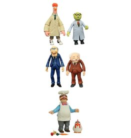 Diamond Select Muppets Action Figures - Best of Series 2