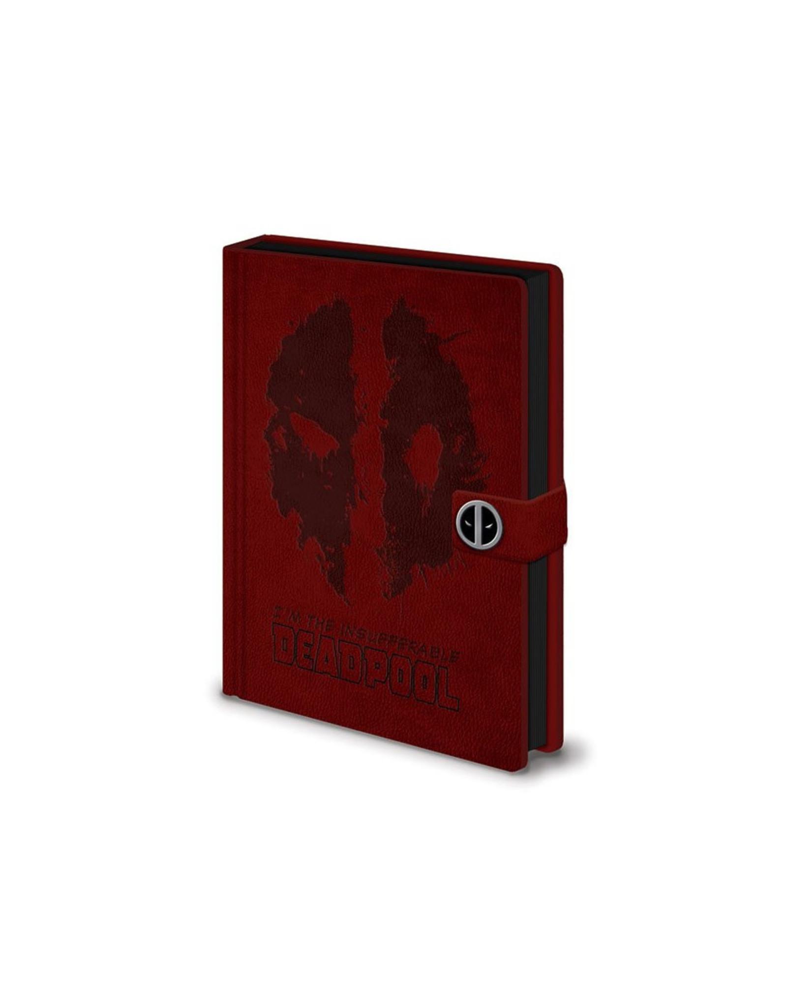 Marvel Deadpool Premium Clasp Notebook