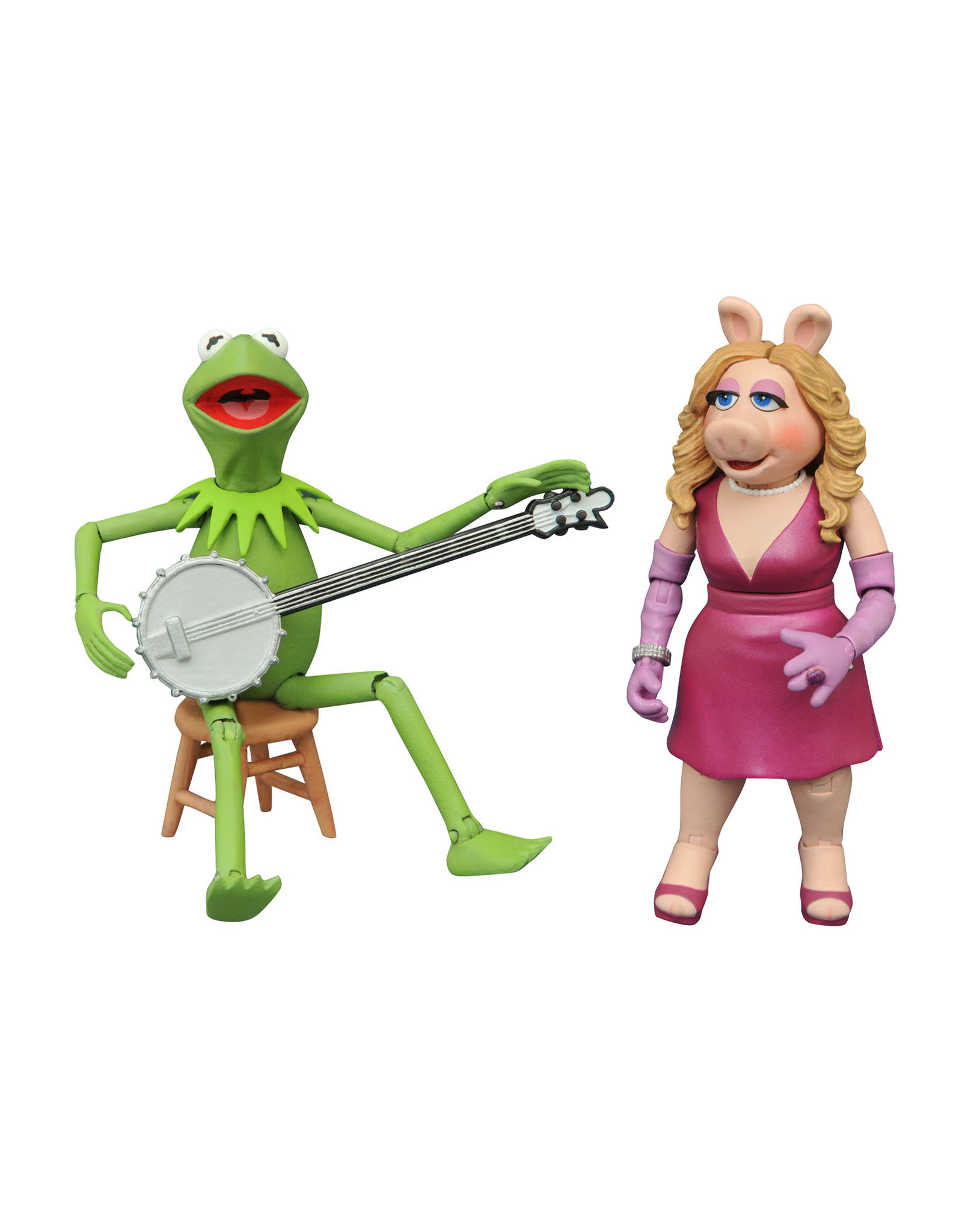 Diamond Select Muppets Best of Series 1 - Kermit and Miss Piggy Action Figure Set