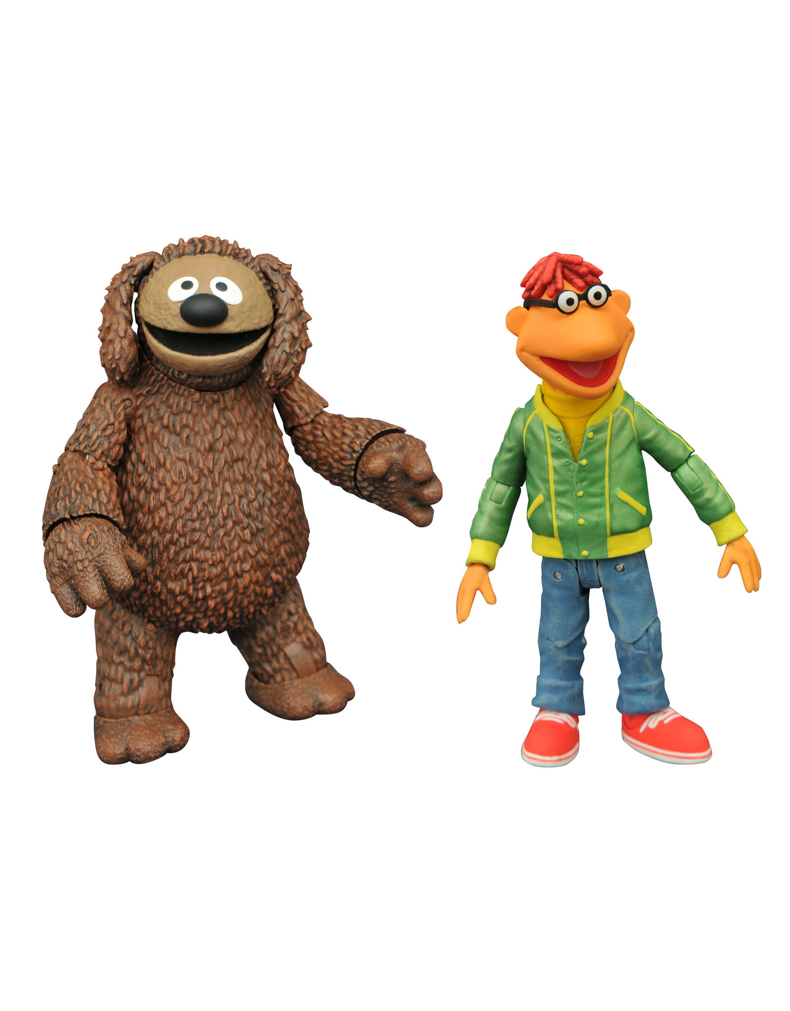 Diamond Select Muppets Best of Series 1 - Rowlf and Scooter Action Figure Set