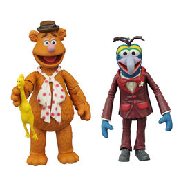 Diamond Select Muppets Best of Series 1 - Fozzie and Gonzo Action Figure Set