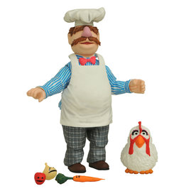 Diamond Select Muppets Best of Series 2 - Swedish Chef Action Figure Set