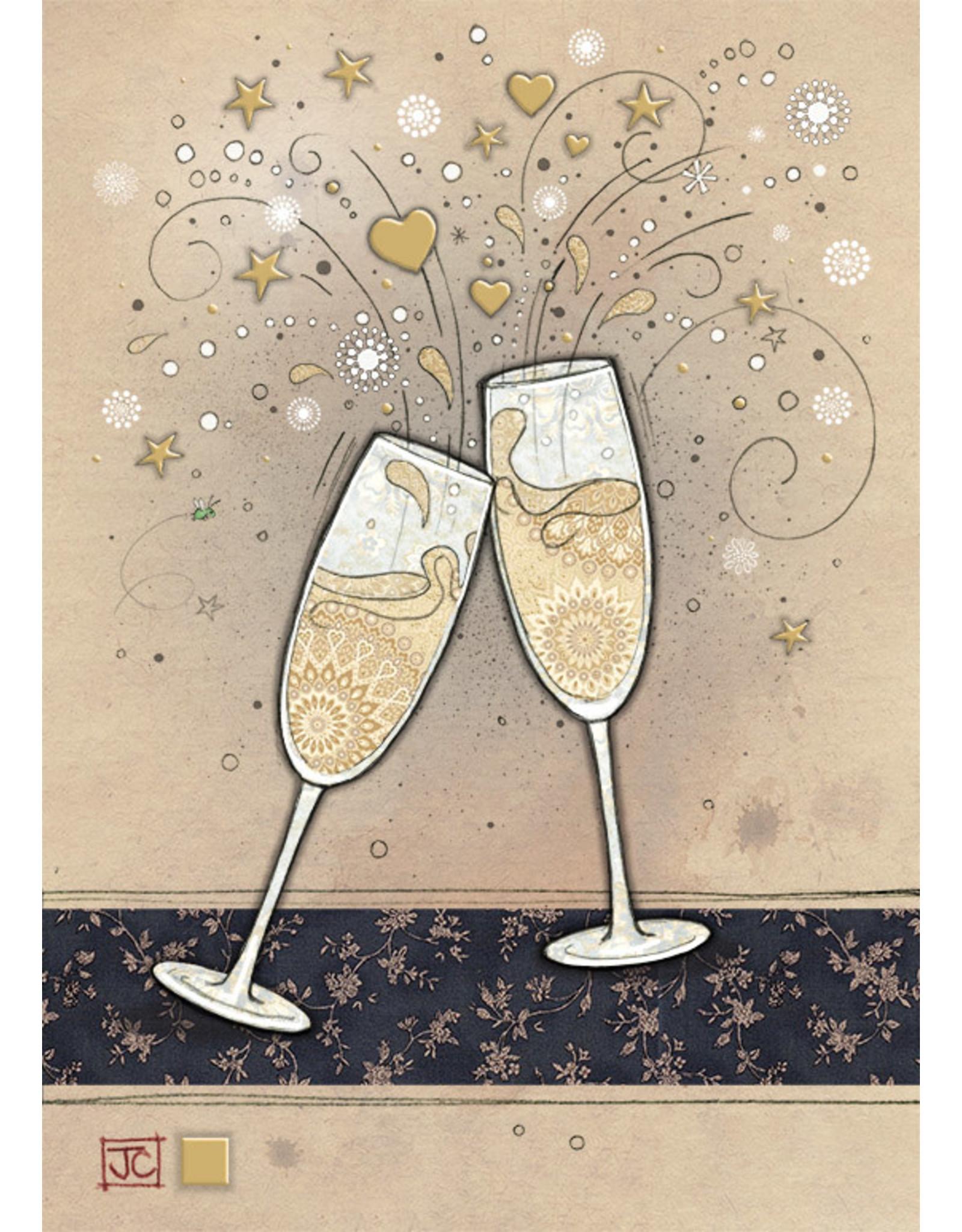 "BugArt BugArt ""Champagne Glasses"""