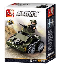 Sluban Sluban Army - Gepantserd Voertuig M38-B0587C