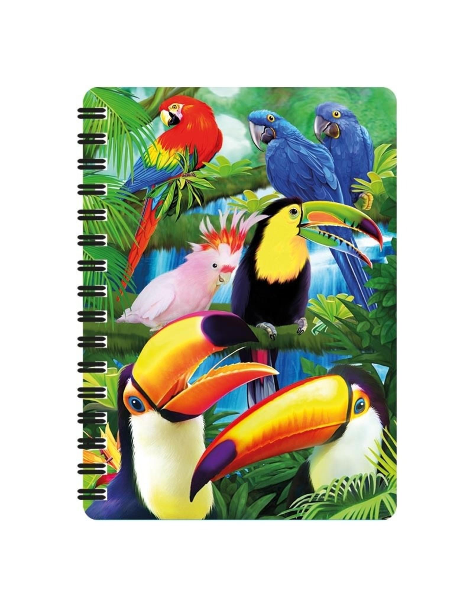 3D Notebook Toucan Paradise