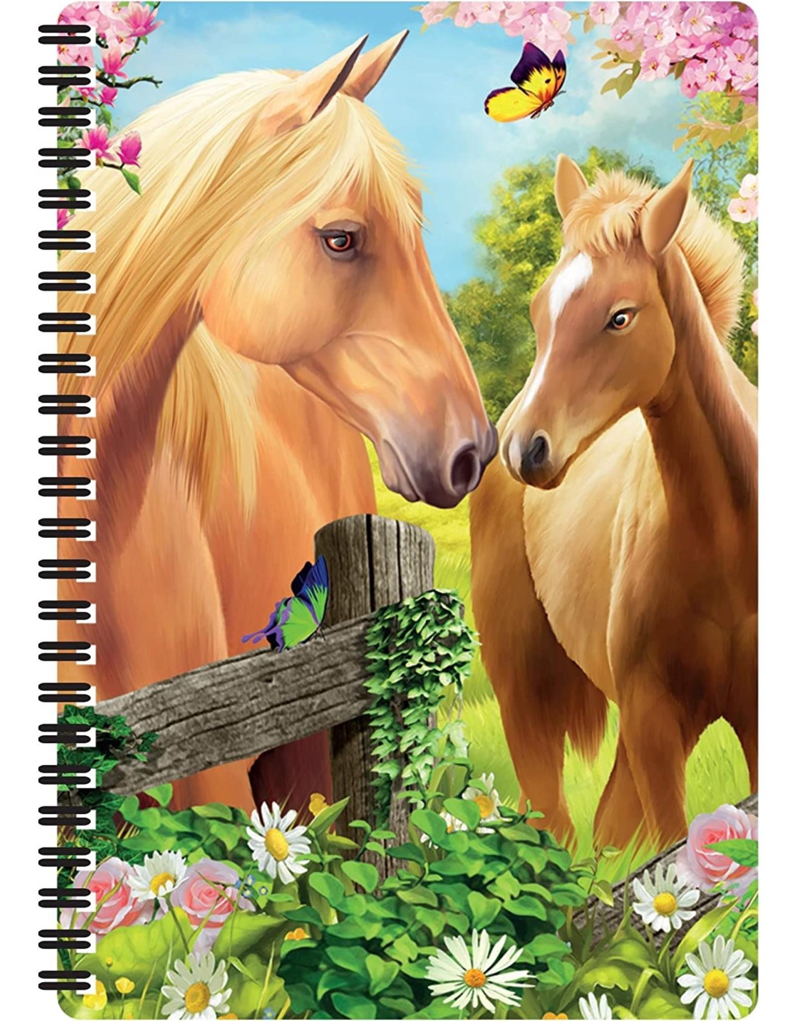 3D Notebook Greener Pastures