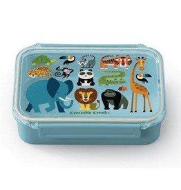 "Crocodile Creek Bento Box ""Jungle Friends"""