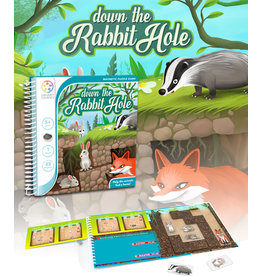 SmartGames Smart Games Magnetic Travel Game - Down the Rabbit Hole