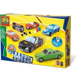SES Figuren gieten en schilderen - Auto's