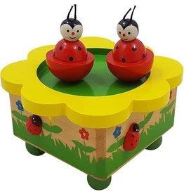 Playwood Muziekdoosje Dansende Lieveheersbeestjes