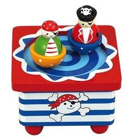 Playwood Muziekdoosje Dansende Piraten