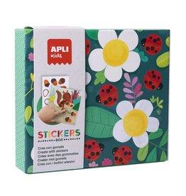 APLI Stickerkaarten Lieveheersbeestjes