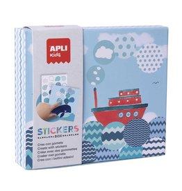 APLI Stickerkaarten Boten
