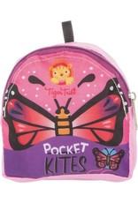 Tiger Tribe Pocket Kite Roze Vlinder