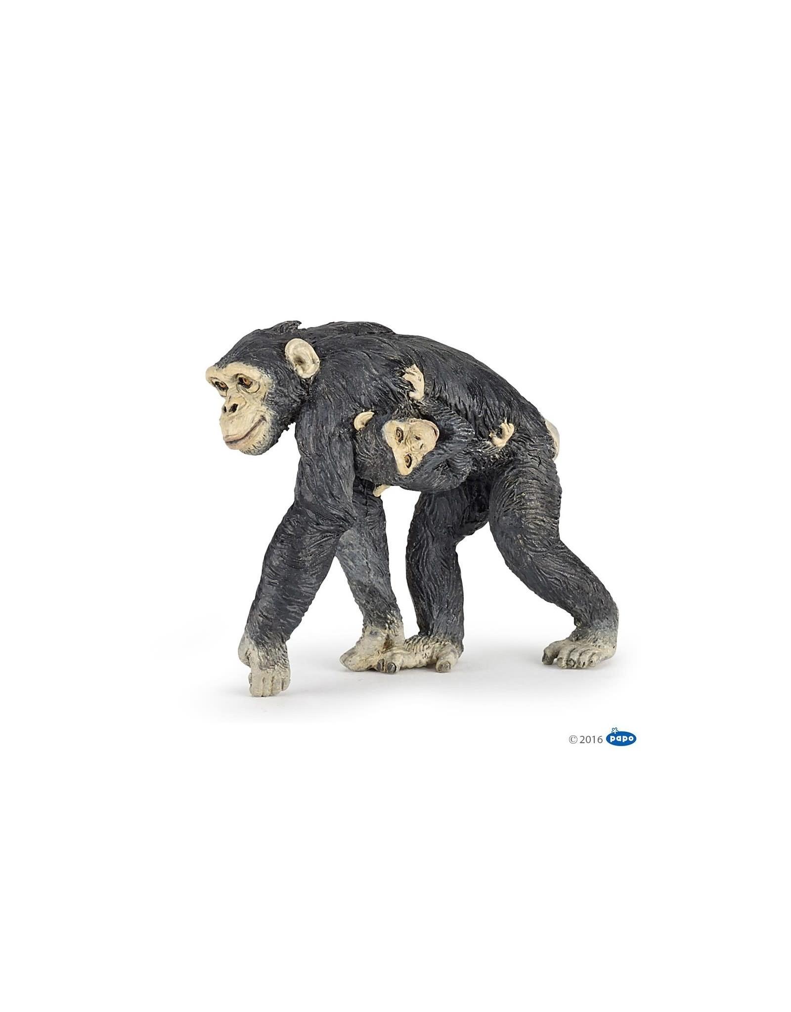 Papo Chimpansee met Baby (50194)