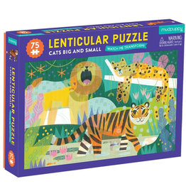 Mudpuppy Watch Me Transform Puzzle - Cats Big and Small