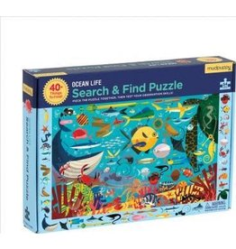 """Mudpuppy Search & Find Puzzle """"Ocean Life"""""""