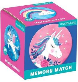 """Mudpuppy Memory Match """"Unicorn Magic"""""""