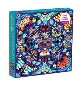 Mudpuppy Kaleido-Butterflies 500 pc Puzzle