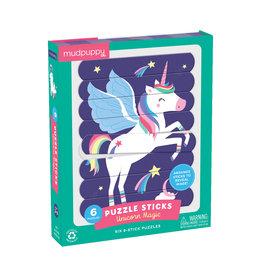 """Mudpuppy Puzzle Sticks """"Unicorn Magic"""""""