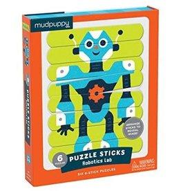 "Mudpuppy Puzzle Sticks ""Robotics Lab"""