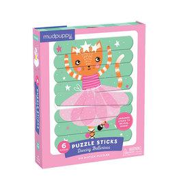 """Mudpuppy Puzzle Sticks """"Dancing Ballerinas"""""""