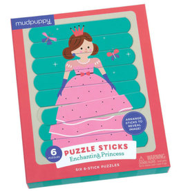 "Mudpuppy Puzzle Sticks ""Enchanting Princess"""