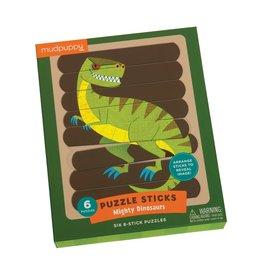 "Mudpuppy Puzzle Sticks ""Mighty Dinosaurs"""
