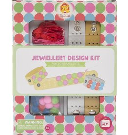 "Tiger Tribe Jewellery Design Kit ""Pom Pom Bracelets"""