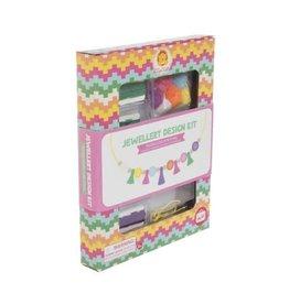 "Tiger Tribe Jewellery Design Kit ""Tassels and Pom Poms"""