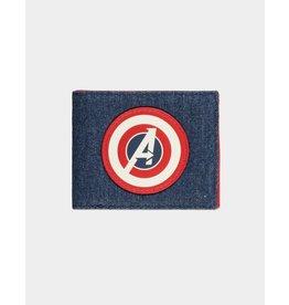Marvel Avengers Game Denim Bifold Wallet