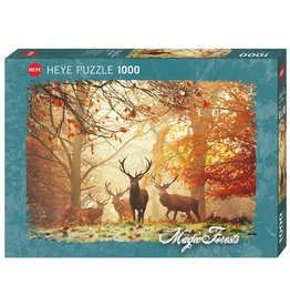 """Heye Magic Forests Puzzle  """"Stags"""""""