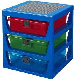 Lego Lego Opbergrek met Lades blauw