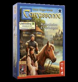 999 Games Carcassonne: Kathedralen en Herbergen