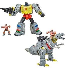 Hasbro Transformers Studio Series 86 Grimlock en Wheelie