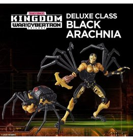 Hasbro Transformers WFC Kingdom Black Arachnia