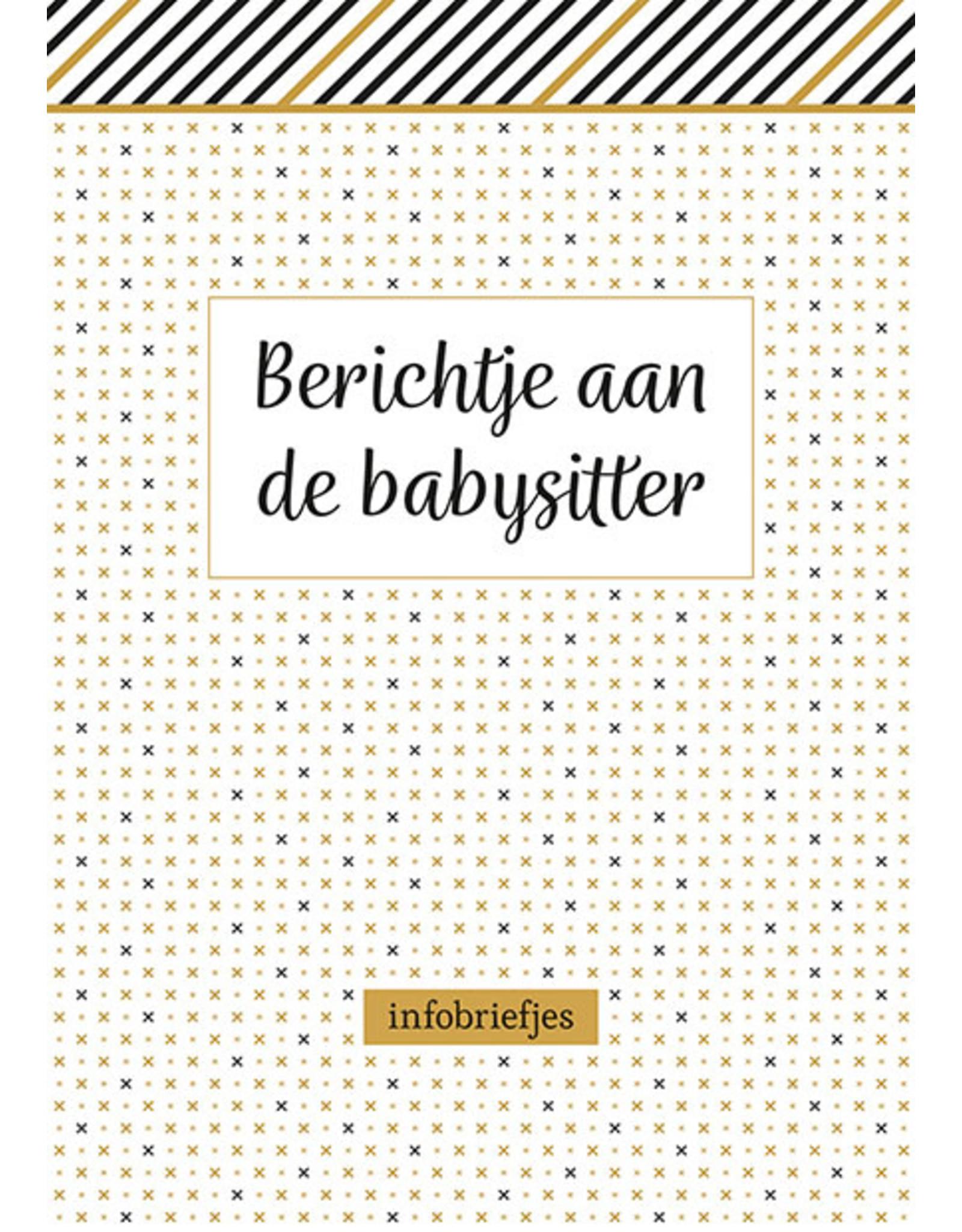 Deltas Berichtje aan de babysitter - infobriefjes