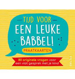 Deltas Praatkaarten - Tijd voor een Leuke Babbel!