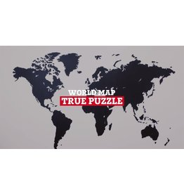 World Map True Puzzle
