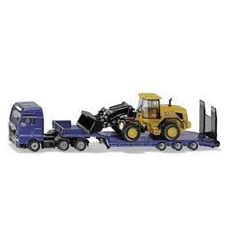 Siku Siku 1790 - 1:87 MAN Vrachtwagen met Dieplader en JCB Shovel
