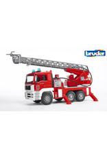 Bruder Bruder 2771 - Brandweer Ladderwagen met licht en geluid