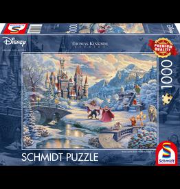 """Schmidt Disney Puzzel """"Belle en het Beest in de Sneeuw"""""""
