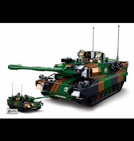 Sluban Sluban Model Bricks - Army Main Battle Tank Europe